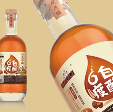 调味品行业包装设计-6度白醋品牌包装设计