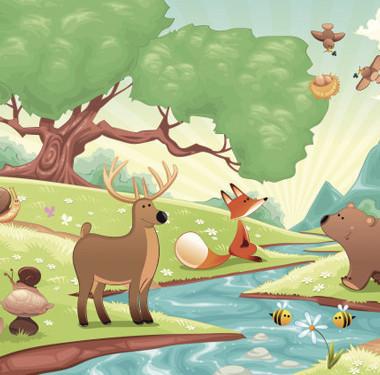 """动画剧本创作动画""""动物家园""""动画设计"""