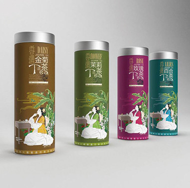 养生茶包装策划-香遇T品牌包装设计