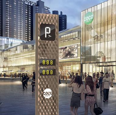 商场路标导视设计
