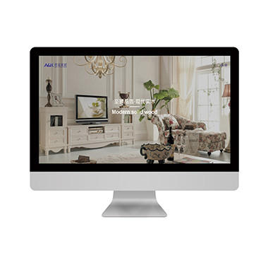 生活家居官方网站设计-沃克家居品牌网站设计