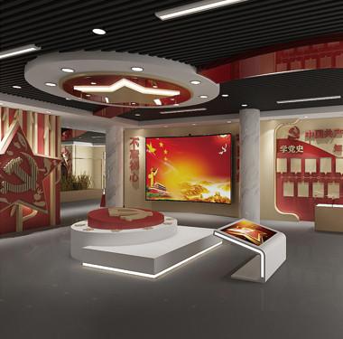 毛庄党文化建展厅