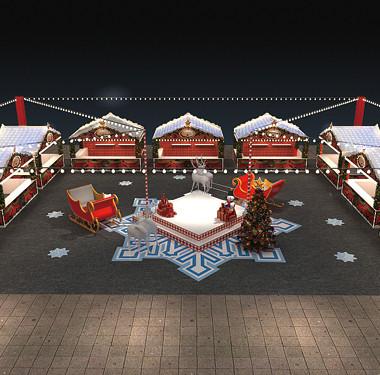 商场集市圣诞活动策划