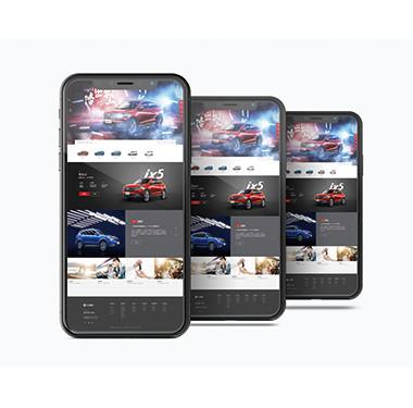 汽车行业官方网站设计-东风风光网站设计