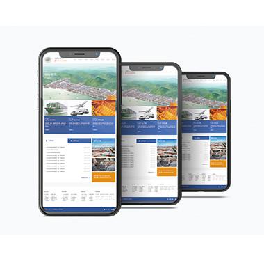 金融服务企业官方网站-迈顺达进出口网站设计