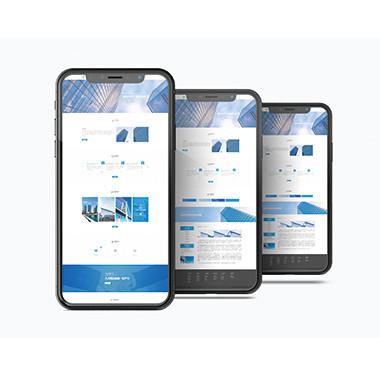 房地产官方网站设计-博达建设集团网站设计