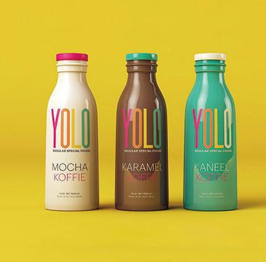 永乐咖啡巧克力牛奶包装设计