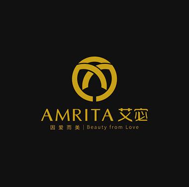 """""""因爱而美AMRITA艾宓""""品牌logo设计"""