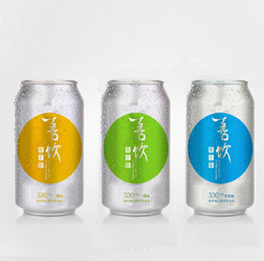 品牌饮料包装设计-善饮饮料包装设计