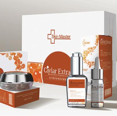 化妆行业包装设计-Skin maste品牌化妆品包装设计
