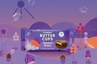 插画风格黄油杯零食包装设计-河南欧宝体育直播创意