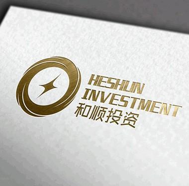 和顺投资金融品牌logo设计