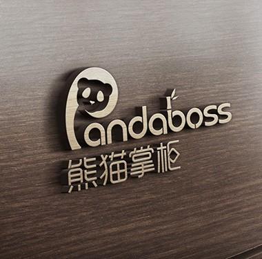 熊猫掌柜电商行业LOGO设计