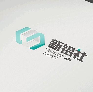 新铝社建材行业图标设计LOGO设计