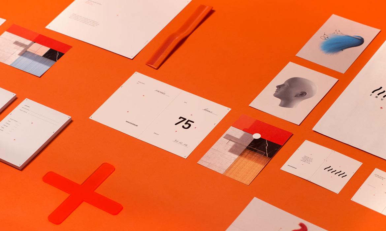 欣赏高端的美发行业品牌形象设计