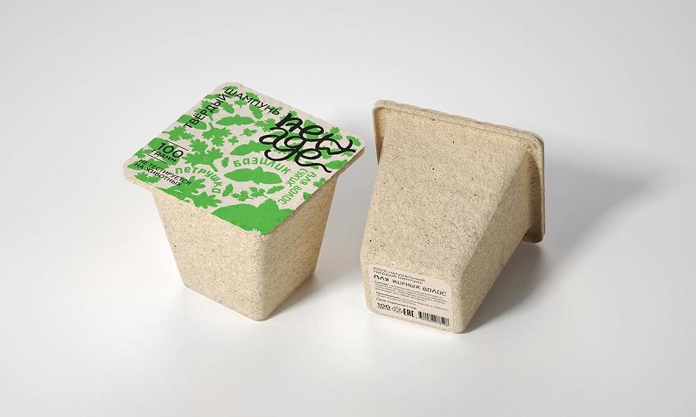 环保的道路上,洗发水和护发膏包装设计(图3)